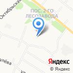 Подснежник на карте Архангельска