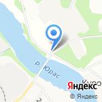 Купеческая лавка на карте Архангельска