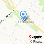 Почтовое отделение №16 на карте Архангельска