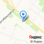 Околица на карте Архангельска