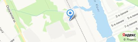 Архрыбсбыт на карте Архангельска