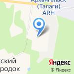 Почтовое отделение связи №53 на карте Архангельска