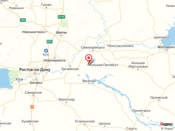 хутор Сараи на карте