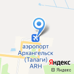 Антикварный магазин на карте Архангельска