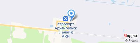 Инком Транс Норд на карте Архангельска