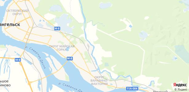 Куропти на карте