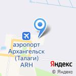 Рамос на карте Архангельска