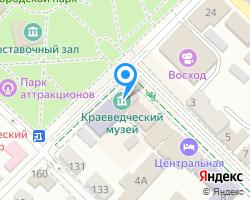 Схема местоположения почтового отделения 353428