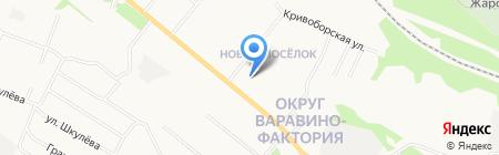Диана на карте Архангельска