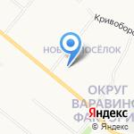 Южный маршрут на карте Архангельска