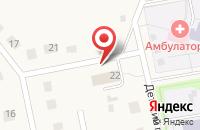 Схема проезда до компании Отделение почтовой связи пос. Зарубино в Зарубино
