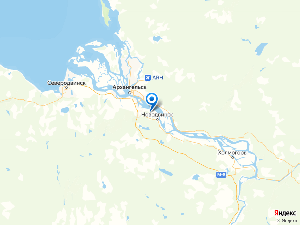 деревня Ширша на карте