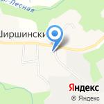 Соболь на карте Архангельска