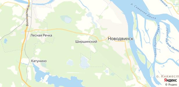 Ширшинский на карте