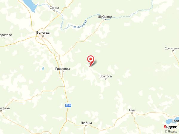 деревня Спасское на карте