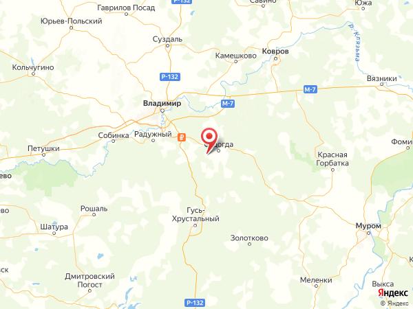 деревня Сорокино на карте