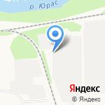 Следственный изолятор №4 на карте Архангельска