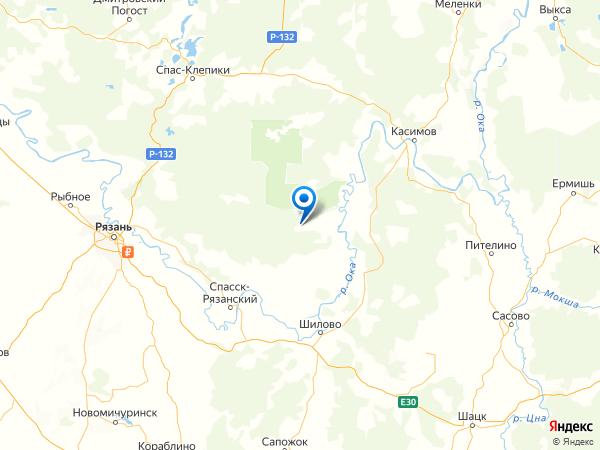 село Орехово на карте