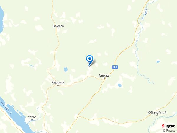 деревня Малинник на карте