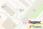 Схема проезда до компании Киоск по продаже цветов в Новодвинске