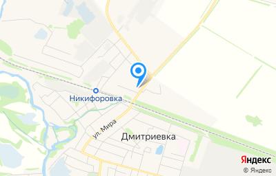 Местоположение на карте пункта техосмотра по адресу Тамбовская обл, рп Дмитриевка, ул Ярославская, д 7