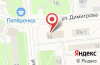 Схема проезда до компании Меркурий Travel в Новодвинске