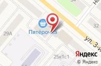 Схема проезда до компании Юридический кабинет Матова А.И в Новодвинске