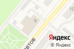 Схема проезда до компании Магазин тканей в Новодвинске