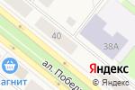 Схема проезда до компании Мебель на заказ в Новодвинске