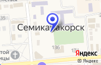 Схема проезда до компании ЖИЛИЩНОЕ АГЕНТСТВО САНТЕХНИК в Семикаракорске