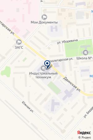 ПРОФЕССИОНАЛЬНОЕ УЧИЛИЩЕ № 30 на карте Новодвинска