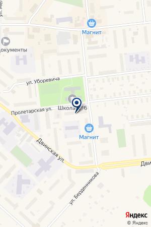 МАГАЗИН БЫТОВОЙ ТЕХНИКИ ВИКИНГ на карте Новодвинска