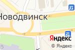 Схема проезда до компании Булочки на улочке в Новодвинске