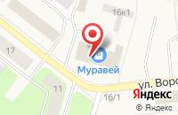 Схема проезда до компании Спортмаркет в Новодвинске