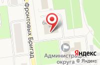 Схема проезда до компании Управление по работе со средствами массовой информации, молодежной политике и спорту в Новодвинске