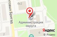 Схема проезда до компании Отдел экономического развития в Новодвинске