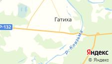 Отели города Дворики на карте