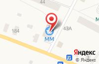 Схема проезда до компании Магнит в Уемском