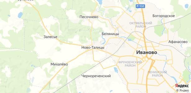 Ново-Талицы на карте
