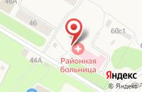 Схема проезда до компании Архангельская областная клиническая станция скорой медицинской помощи в Уемском