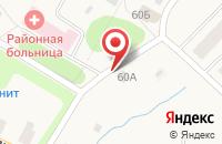 Схема проезда до компании Продовольственный магазин в Уемском