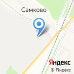 Кострома Пласт на карте Костромы