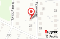 Схема проезда до компании Автосервис в Чапурниках