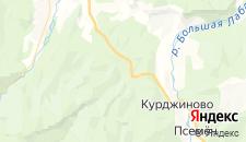 Отели города Солёное на карте