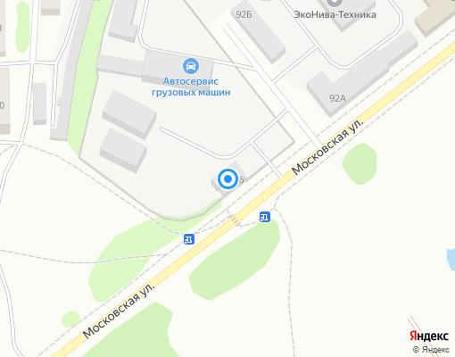 Управляющая компания «Заволжье» на карте Костромы