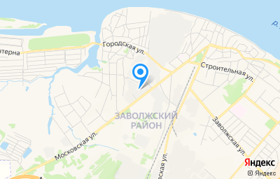 Местоположение на карте пункта техосмотра по адресу г Кострома, ул Московская, д 92