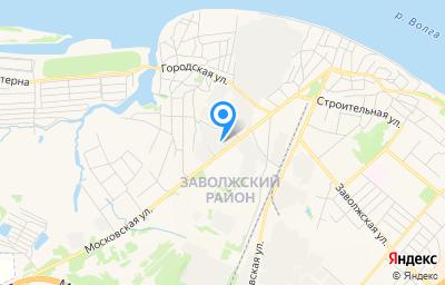 Местоположение на карте пункта техосмотра по адресу г Кострома, ул Московская, д 92 стр г