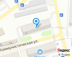 Схема местоположения почтового отделения 601351