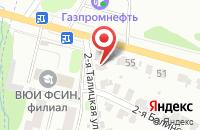 Схема проезда до компании Автосервис в Ново-Талицах