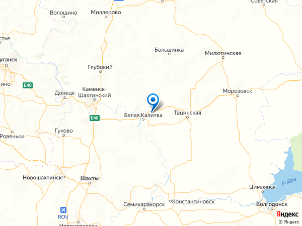 хутор Погорелов на карте